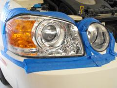 Headlight renewal repair and training